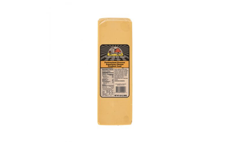 Unsliced Yellow American Cheese